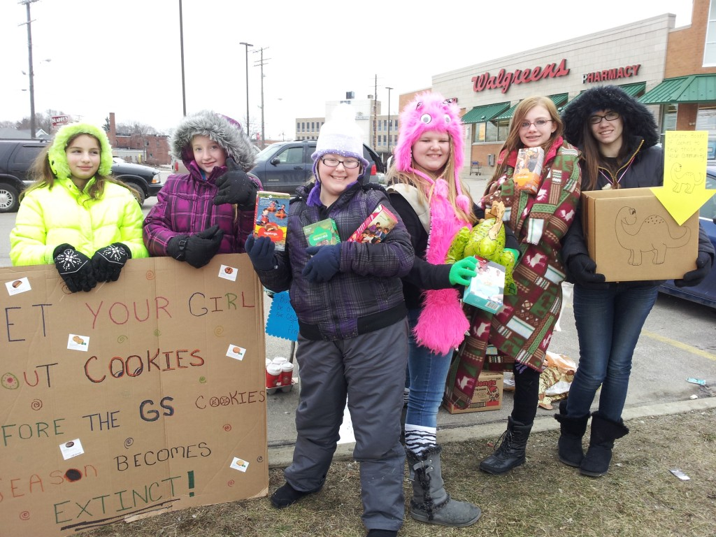 Drive-Thru Cookie Booths