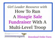 Girl Scout hoagie ideas