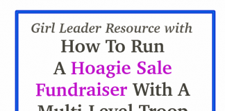 Girl Scout hoagie ideas