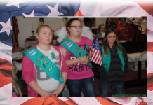 Girl Scout Flag Ceremony