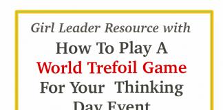 Girl Scout World Trefoil Game