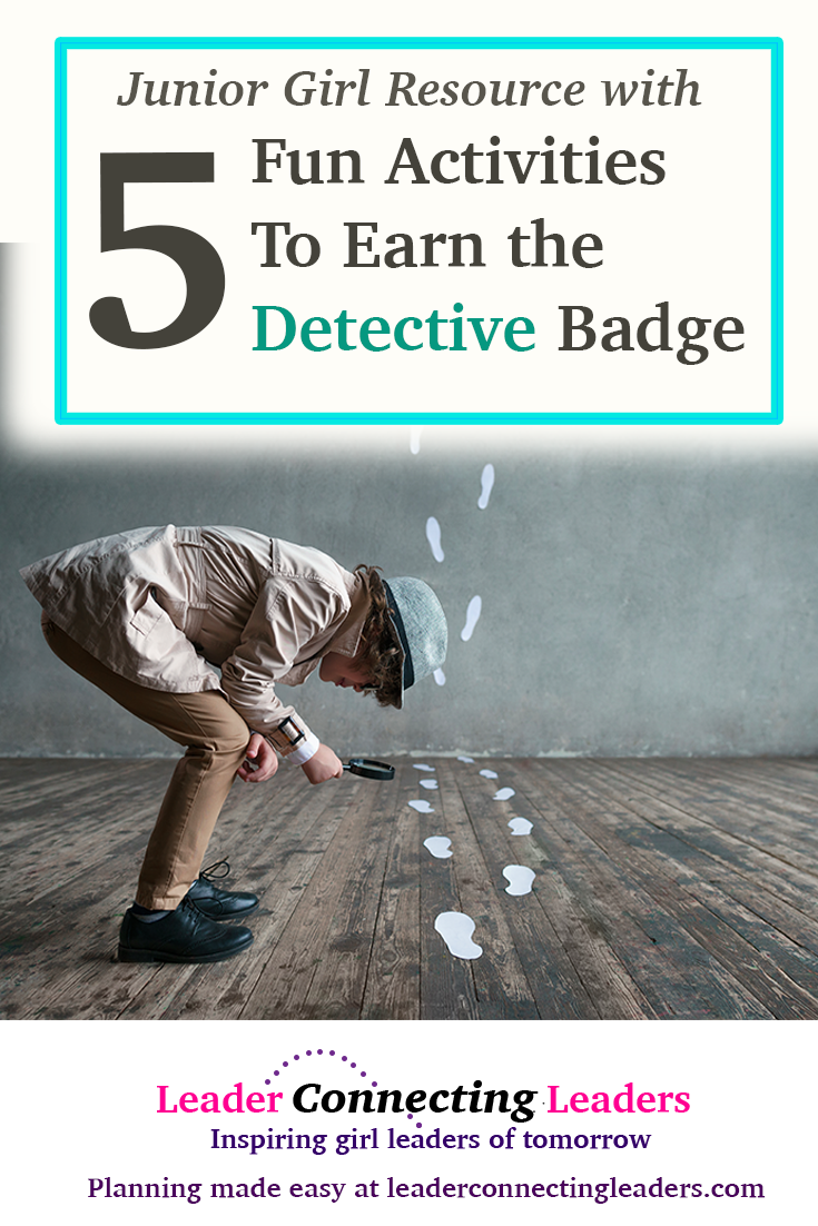 5 fun activities to earn the junior detective badge leader 5 fun activities to earn the junior detective badge leader connecting leaders solutioingenieria Gallery