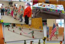 Girl Scout Hawaiian Party