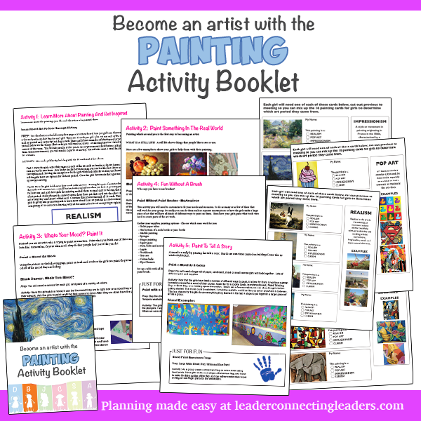 6 fun activities to earn the brownie painting badge leader before jumping into some ideas do you want to skip all the planning if so use the painting activity booklet to fulfill the requirements for the painting solutioingenieria Gallery