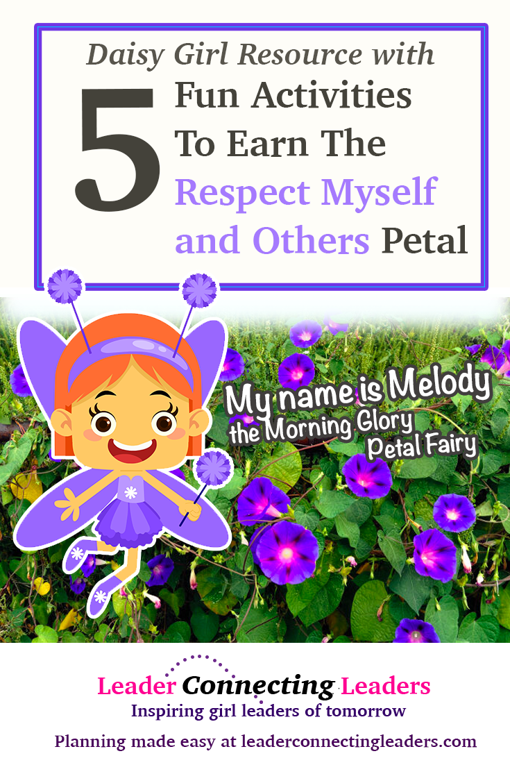 5 Fun Ideas To Earn The Daisy Respect Myself And Others Petal