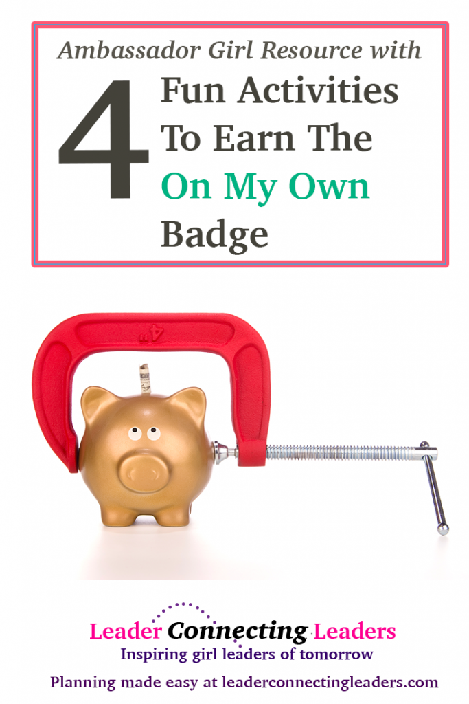 4 fun activities to earn the ambassador on my own badge leader as a ambassador scout you are very close to graduating high school and either going to collage or moving out on your own either way as a adult you will solutioingenieria Gallery
