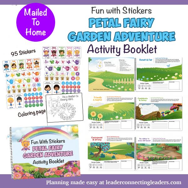 Daisy Petal Fairy Garden Adventure Sticker book