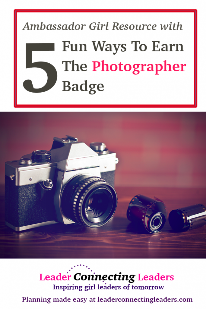 5 fun activities to earn the ambassador photographer badge leader if you have ambassador scouts they will enjoy the photographer badge before jumping into some fun ideas to add to your meeting solutioingenieria Gallery