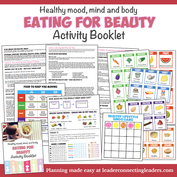9 fun activities to earn the cadette eating for beauty badge a few ideas do you want to skip all the planning if so use the eating for beauty activity booklet to fulfill the requirements for this senior badge solutioingenieria Gallery