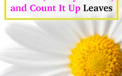 Everything You Need To Earn The Daisy Talk it Up, Making Choices, Money Counts, and Count It Up Leaves