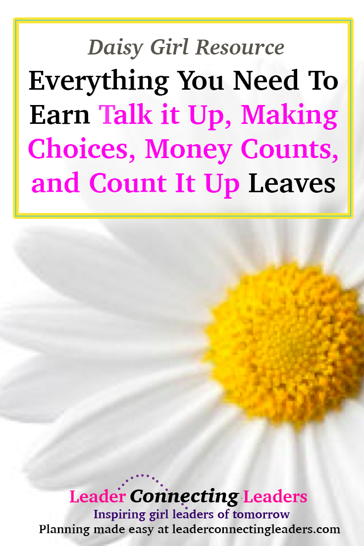 Everything You Need To Earn The Daisy Talk It Up Making Choices