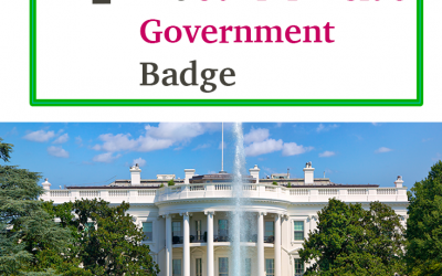 4 Ideas To Help Your Girls Earn the Junior Inside Government Badge