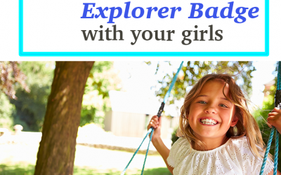 5 Fun Activities to help you earn the Junior Outdoor Art Explorer Badge with your girls