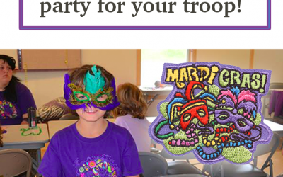 7 Fun Mardi Gras Activities to have a party with your troop