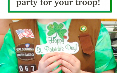 7 Fun St. Patrick's Day Activities to have a party with your troop