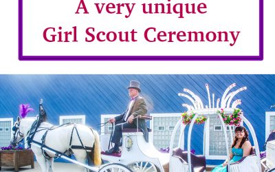 A very unique Girl Scout Ceremony – Magical night at the Cinderella Ball