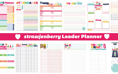 25 Page Leader Planner with Everything You Need to Plan Your Troop Year