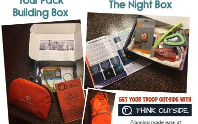 Here Is A Great Way To Take Your Troop Outside And Learn New Skills Every Month