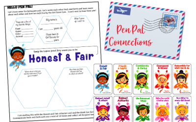 How to Find Pen Pals for Your Troop & 4 Great Ideas to Connect to More Girls Around the World
