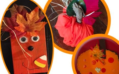 3 Easy to Make Pumpkin Crafts for Your Troops Fall Event