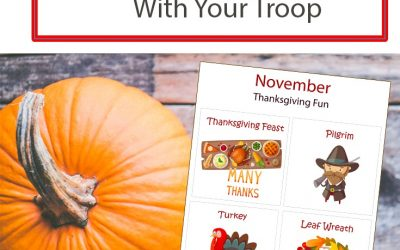 6 Fun Activities For a Thanksgiving Party With Your Troop
